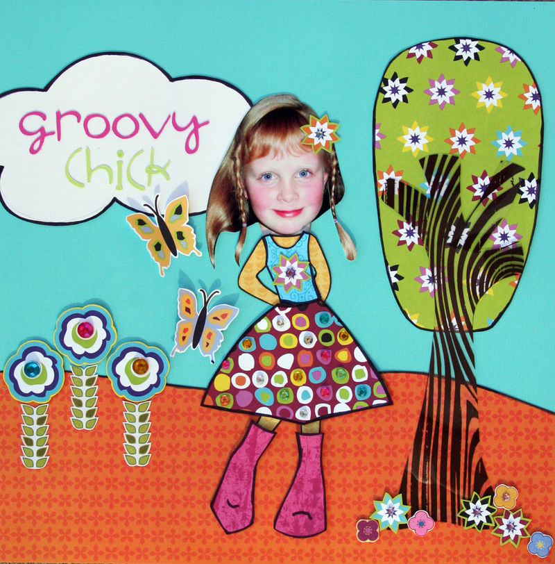 Groovy chick