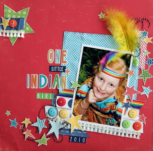 Tracey one little indian